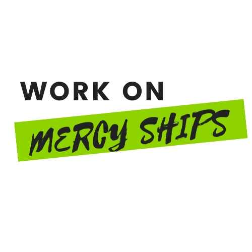 Working on Mercy Ships