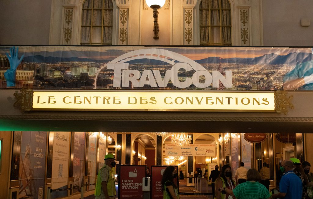 Sign that says TravCon